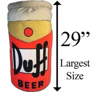 Other - THE SIMPSONS DUFF BEER PLUSH